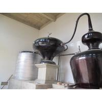 Quality Double Pots Distiller with 6 Plates Copper Column / Two Pot Style Distillation Equipment for Sale for sale