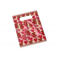 Buy Cotton Ribbon Personalized Paper Wine Bottle Gift Bags , Custom Business at wholesale prices