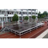 Quality Waterproof Movable Stage Platform , Folding Stage Aluminum T6082-T6 for sale