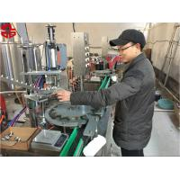 Quality Aerosol Paint Filling Machine / Aerosol Can Filling Line For Snow Sprays , Party Strings for sale
