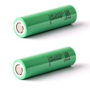 Quality Original 18650 3.7V 2500mah INR18650-25R 2500mAh lithium battery for samsung 25R/ 30Q/ 26F for sale