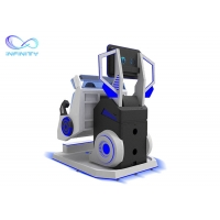 Quality Motion Chair Interactive 9D Cinema Virtual Reality Simulator 360 Degree for sale