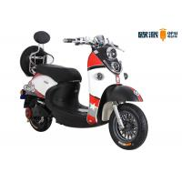 Quality 60v 20ah Ladies Electric Scooter Double Headlight Dis Brake Round Rear Box for sale