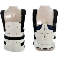 Quality Perforated Breathable Fabric Lumbar Sacral Support Back Brace For Women , Men for sale