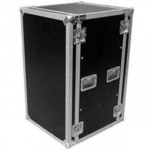 Quality Aluminum Moving Rack Flight Case For Camera / 18U Flight Cases for sale