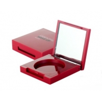 Quality JL-EC201 Square Powder Compact Cheek 51mm 13mm Empty Blush Container for sale