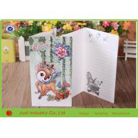 Quality Two Sided Printing Holiday Christmas Cards , Professional Happy Birthday Greeting Cards for sale