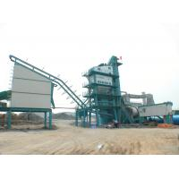 Quality 160t / H Asphalt Drum Mix Plant For Highway Building 90KW Draught Fan 30T Diesel Tank for sale