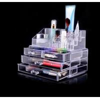 Quality Professional Custom makeup display case, Acrylic cosmetic display stand, makeup display stand for sale