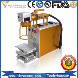 Quality Portable type Raycus laser source fiber laser marking machine, TL20W best prce. THREECNC for sale