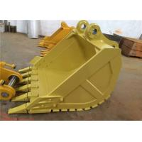 China Heavy Duty Excavator Bucket , Earthmoving Cat Ditching Bucket For Excavator on sale