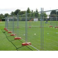 Quality Orange Customized Temporary Fence Panels For Environmental Protection Areas for sale