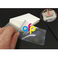 Quality Hot Lamination Machine Suit Laminating Pouch Film , Glossy Thermal Laminating Pouches for sale