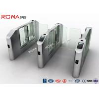 Quality Electronic Turnstile RFID Pedestrian Barrier Gate , Turnstile Security Systems for sale