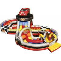 Buy cheap inflatable indoor playground , kids obstacle course equipment , inflatable amusement park from wholesalers