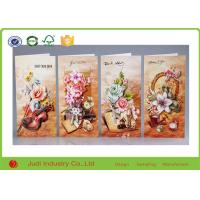 China Custom Design Folded Holiday Greeting Cards Offset Printing Personalized Greeting Cards on sale