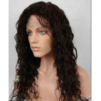 Buy Unprocessed 100% Indian Full Lace Human Hair Wigs kinky curly With Baby Hair at wholesale prices