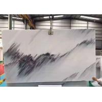 Quality Half  Style Blue Sky Marble Stone Slabs For Wall Background Beautiful Surface Appearance for sale