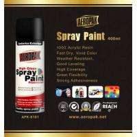 Quality High Glossy Aerosol Spray Paint , Wide Coverage Automotive Aerosol Paint for sale