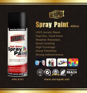 Quality Odourless Aerosol Spray Paint 10oz Rich Metallic Finish Interior Exterior for sale