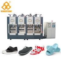 Quality Single Color EVA Foam Injection Molding Machine , Chappal Making Machine  for sale