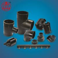 China OEM Plastic Water Line Fittings , Pe Pipe For Water Supply Butt Weld Pipe Saddle on sale