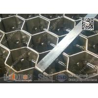 """Buy cheap Hex-Mesh Grating Stainless Steel 304 3/4"""" depth, 14gauge thickness 