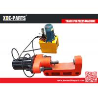 Quality C type portable hydraulic track link pin press machine for excavator&bulldozer for sale