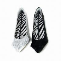 Buy cheap Ballerina Shoes with Microfiber Upper, Cotton Lining and TPR Sole from wholesalers