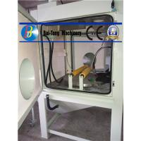 Multifunctional Wet Sandblasting Equipment , Water Blasting Cabinet Long Service Life