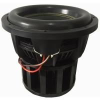 Quality W-10000 Flat Wire SPL 12 Subwoofer , High SPL Subwoofer Foam Surround Cone for sale
