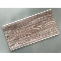 Quality Recyclable Brown PVC Wood Panels Easy Maintenance 2.5kg/Sqm - 3kg/Sqm for sale