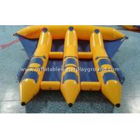 China Summer Crazy Inflatable Towables Boat Flying Fish For Surfing Water Games on sale