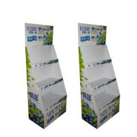 Cardboard Display Rack Potato Chip Advertising Recycled Paper Material