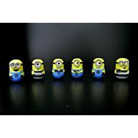Quality ABS Material Small Minion Figures , Despicable Me Minion Toys For Kids for sale