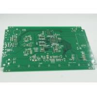 Quality Fiducial Mark Added Double Side PCB Gold Surface Plating PTH / NPTH Vias for sale