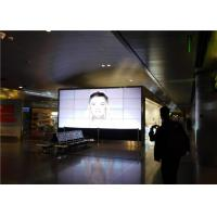 Quality Anti - Glare 3.9mm Bezel Samsung Indoor LED Video Wall Screens 46'' With 500nits for sale