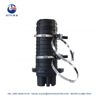 Quality PP Pole Mounting FTTH Fiber Optic Splice Closure for sale