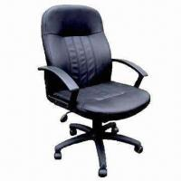 Quality Office Chair with PU Seat and Back Cushion, PP Armrest, Nylon Base/Caster for sale