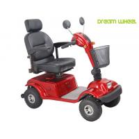 Buy cheap Disable 600 Watt 4 Wheel Mobility Scooter 105Kgs Polyurethane Adjustable Seat from wholesalers