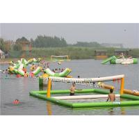 Quality inflatable beach volleyball court , inflatable water volleyball court for sale