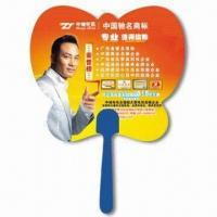 Quality Hand Fan, Suitable for Promotional Purposes, Made of PP, Customer's Logo Printings are Available for sale