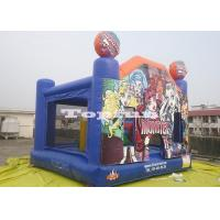 Quality Halloween Inflatable Jumping Castle / Bounce And Slide In Monsters House for sale