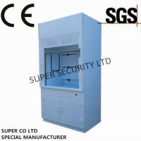 Buy Poly Ducted Laboratory Chemical Fume Hood / Cupboard with PP Cup Sink for at wholesale prices