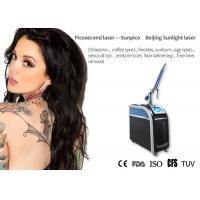 China Age Spot Picosecond Laser Tattoo Removal Machine Long Working 1mm - 10mm Diameter on sale