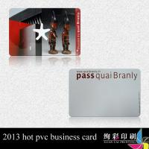 China Black PVC RFID Smart Card Access Control , Signature Code Credit Card on sale