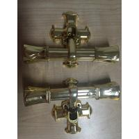 Quality Funeral Casket Handle / Casket Hardware For Cremation Coffin , 22.5*13 for sale
