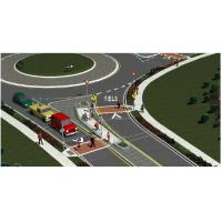 Buy cheap Solar Powered Wired Traffic Control Systems Safety Islands Circle B07 from wholesalers