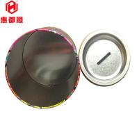 Buy wholesale custom Exquisit CMYK print round coin bank tin box packaging at wholesale prices