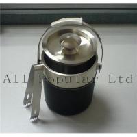 Quality Ice bucket with leatherette for sale